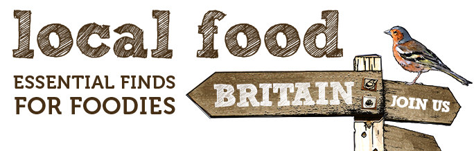 Local food Britain logo, west fisher