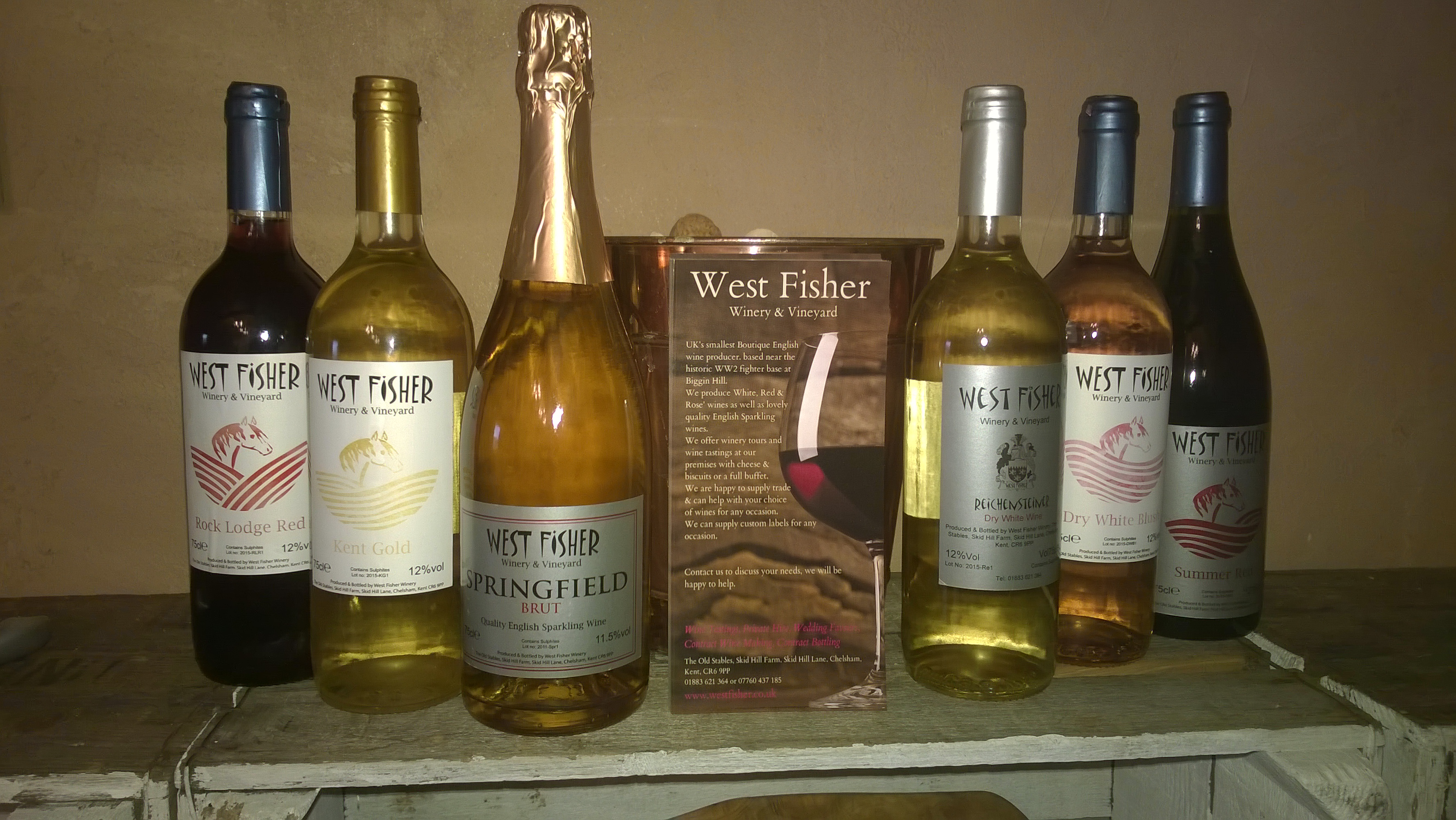 west fisher English wines